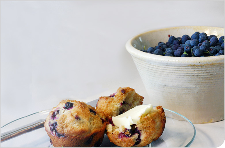 Blueberry Muffins With Blueberries