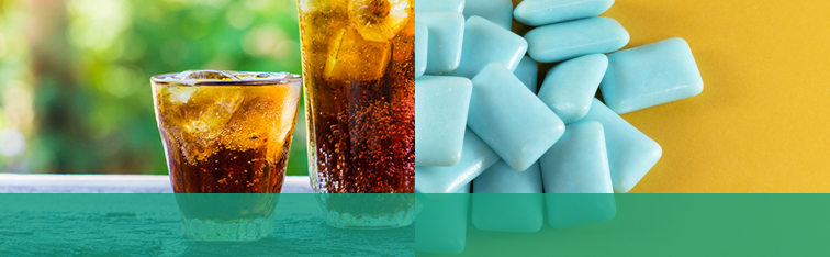 Drink Soda With Sugar Free Gum