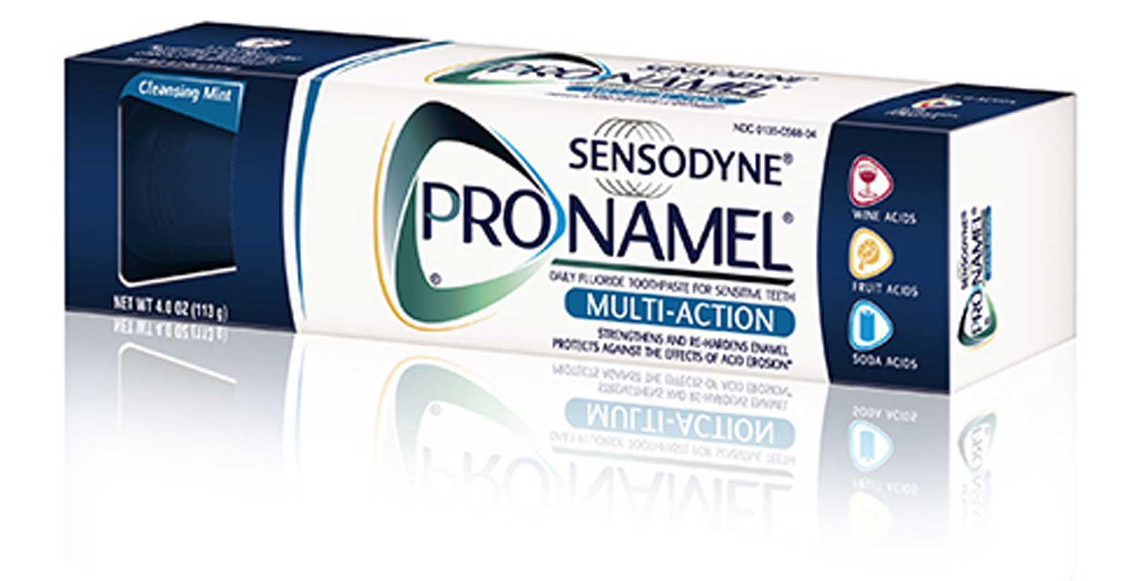 ProNamel  Multi-Action Toothpaste Mobile